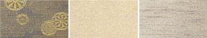 ⑩御所車紋    ⑪群雲小紋    ⑫霞雲小紋